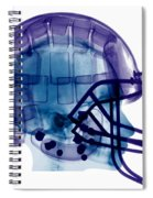 Football Helmet, X-ray Spiral Notebook