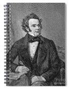 Franz Schubert (1797-1828) Spiral Notebook