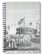 Fulton Steam Frigate, 1814 Spiral Notebook