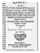 Hans Von Grimmelshausen Spiral Notebook