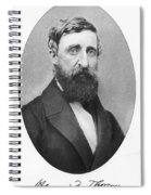 Henry David Thoreau Spiral Notebook