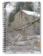 Ice Storm Spiral Notebook