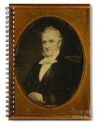 James Buchanan, 15th American President Spiral Notebook