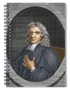 John Flamsteed, English Astronomer Spiral Notebook