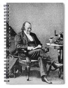 Louis Agassiz, Swiss-american Polymath Spiral Notebook