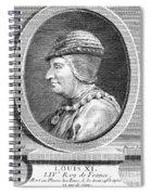 Louis Xi (1423-1483) Spiral Notebook
