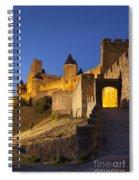 Medieval Carcassonne Spiral Notebook