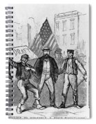 New York: Draft Riots, 1863 Spiral Notebook