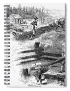 Oregon Trail Emigrants Spiral Notebook