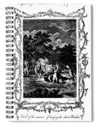 Plague Of London, 1665 Spiral Notebook