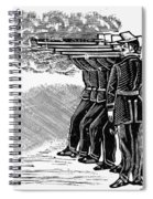 Posada: Firing Squad Spiral Notebook