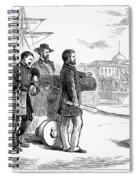 Reconstruction Cartoon Spiral Notebook