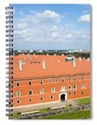 Royal Castle In Warsaw Spiral Notebook