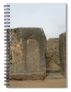 Sacsayhuaman Ruins In Cusco Spiral Notebook