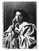 Sarah Bernhardt Spiral Notebook