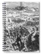 Seven Days Battles, 1862 Spiral Notebook