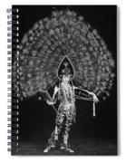 Silent Film Still: Costume Spiral Notebook