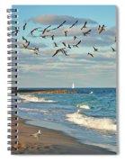 5- Singer Island 8x 10 Spiral Notebook