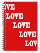 5 Steps Of Love Spiral Notebook