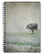 Textured Tree Spiral Notebook
