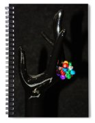 The Black Hand Spiral Notebook