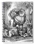 Thomas Nast: Santa Claus Spiral Notebook