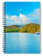 Tropical Lagoon Spiral Notebook