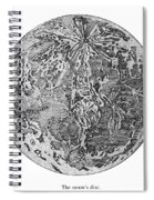 Verne: Earth To Moon Spiral Notebook