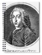 William Pitt (1708-1778) Spiral Notebook