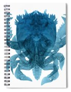 X-ray Of Deep Water Crab Spiral Notebook