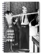 Silent Film Still Spiral Notebook
