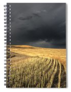 Storm Clouds Saskatchewan Spiral Notebook