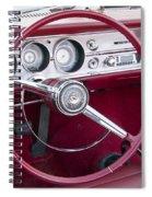55 Chevy Ss Dash Spiral Notebook