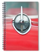 '57 Chevy Hood Ornament 8508 Spiral Notebook