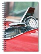 57 Chevy Hood Ornament 8509 Spiral Notebook