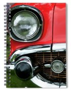 57 Chevy Right Front 8561 Spiral Notebook