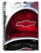 57 Chevy Tail Light Spiral Notebook