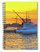 57- Sunset Cruise Spiral Notebook