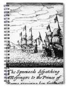 Spanish Armada, 1588 Spiral Notebook