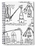 Alchemy Illustration Spiral Notebook
