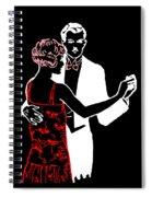 Art Deco Image Spiral Notebook