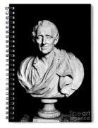 Baron De Montesquieu Spiral Notebook