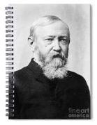 Benjamin Harrison Spiral Notebook
