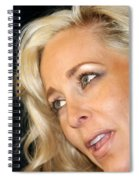 Blond Woman Spiral Notebook