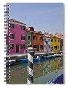Burano - Venice - Italy Spiral Notebook