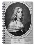 Christina (1626-1689) Spiral Notebook