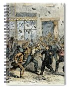 Civil War: Draft Riots Spiral Notebook