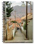 Cusco Peru Street Scenes Spiral Notebook