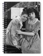 Damsel In Distress Spiral Notebook