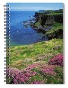Dunluce Castle, Co Antrim, Ireland Spiral Notebook